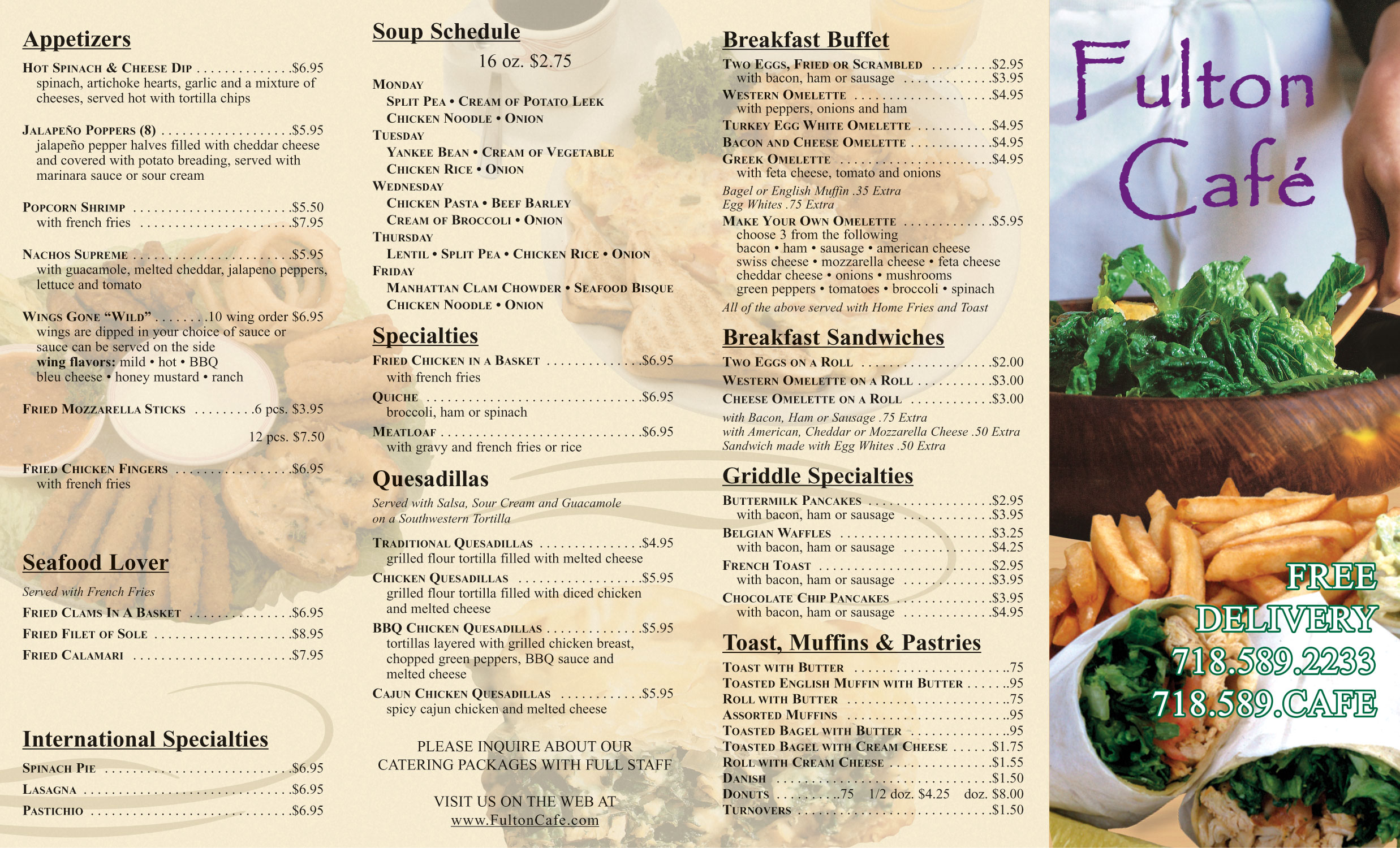 Market Cafe Menu Market Basket